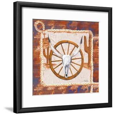 Western Art II-Gina Ritter-Framed Art Print