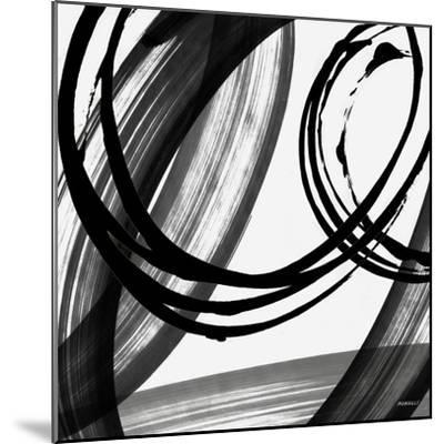 Black and White Pop I-Dan Meneely-Mounted Art Print