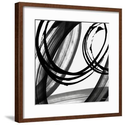 Black and White Pop I-Dan Meneely-Framed Art Print