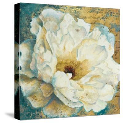 Zuzu Peony Gold I-Patricia Pinto-Stretched Canvas Print