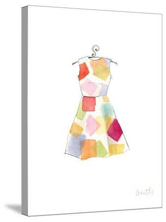 The Watercolor Dresses II-Lanie Loreth-Stretched Canvas Print