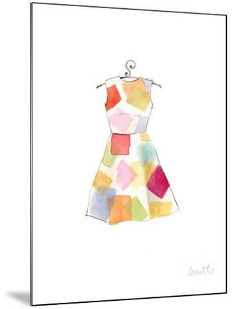 The Watercolor Dresses II-Lanie Loreth-Mounted Art Print