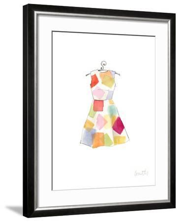 The Watercolor Dresses II-Lanie Loreth-Framed Art Print
