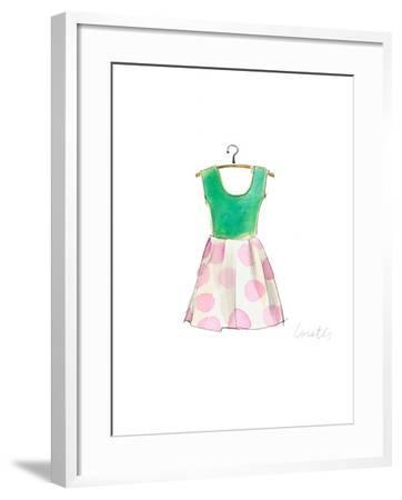 The Watercolor Dresses IV-Lanie Loreth-Framed Art Print