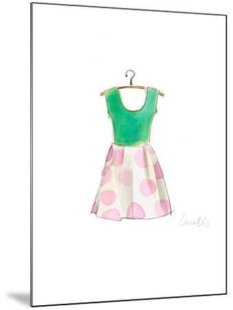 The Watercolor Dresses IV-Lanie Loreth-Mounted Art Print
