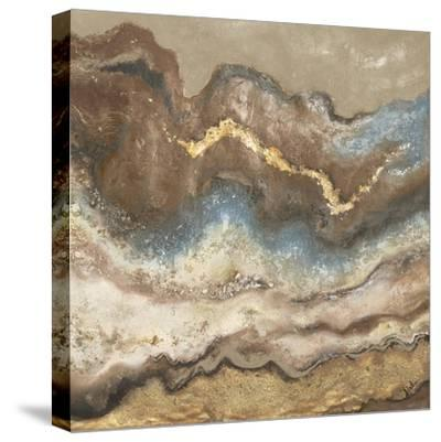 Neutral Tierra Square-Patricia Pinto-Stretched Canvas Print