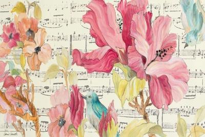 Tropical Grace Lyrics-Lanie Loreth-Framed Art Print