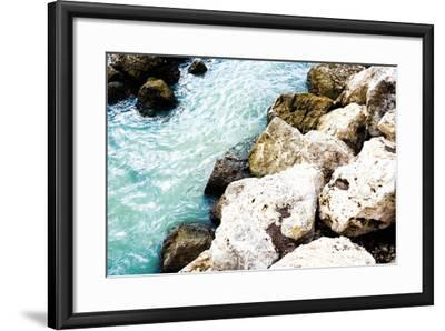 Blue By The Rocks-Acosta-Framed Photo