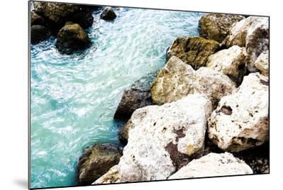 Blue By The Rocks-Acosta-Mounted Photo