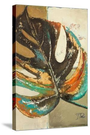 Contemporary Leaves II-Patricia Pinto-Stretched Canvas Print