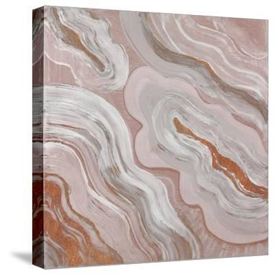 Moody Orange Agate-Lanie Loreth-Stretched Canvas Print