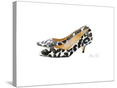 Watercolor Kitten Heels III-Lanie Loreth-Stretched Canvas Print
