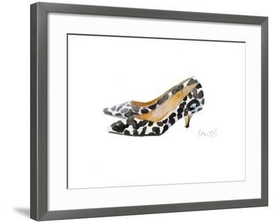 Watercolor Kitten Heels III-Lanie Loreth-Framed Art Print