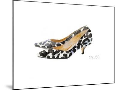 Watercolor Kitten Heels III-Lanie Loreth-Mounted Art Print