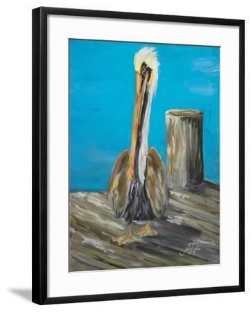 Pelican Way I-Julie DeRice-Framed Art Print
