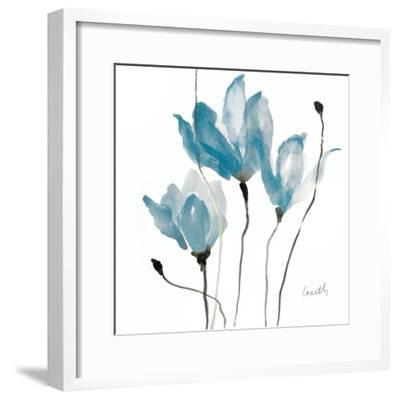 Blue Sway Square-Lanie Loreth-Framed Art Print