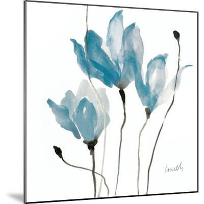 Blue Sway Square-Lanie Loreth-Mounted Art Print