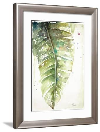 Watercolor Plantain Leaves I-Patricia Pinto-Framed Art Print