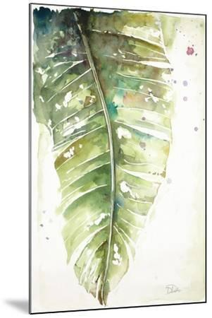 Watercolor Plantain Leaves I-Patricia Pinto-Mounted Art Print