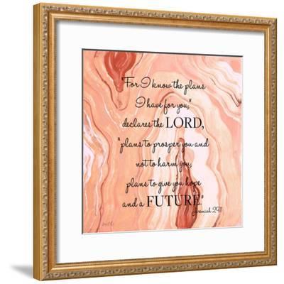 Lord's Declaration-Lanie Loreth-Framed Art Print