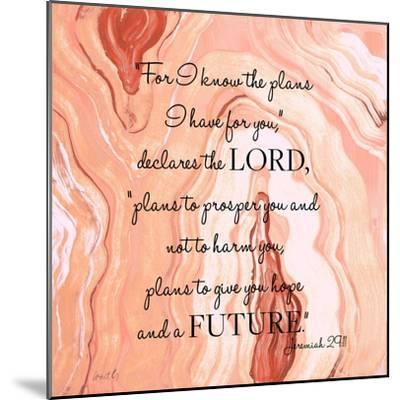 Lord's Declaration-Lanie Loreth-Mounted Art Print