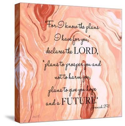 Lord's Declaration-Lanie Loreth-Stretched Canvas Print