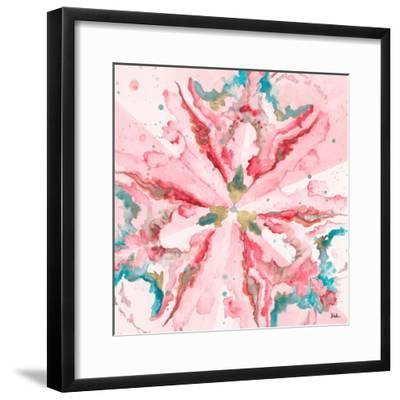 Pink Constellation Square-Patricia Pinto-Framed Art Print