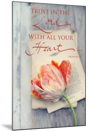 Trust in the Lord-Sarah Gardner-Mounted Art Print