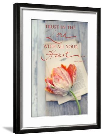 Trust in the Lord-Sarah Gardner-Framed Art Print