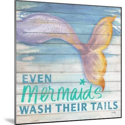 Mermaid Bath II-Elizabeth Medley-Mounted Art Print