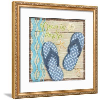 Hit the Beach III-Paul Brent-Framed Art Print