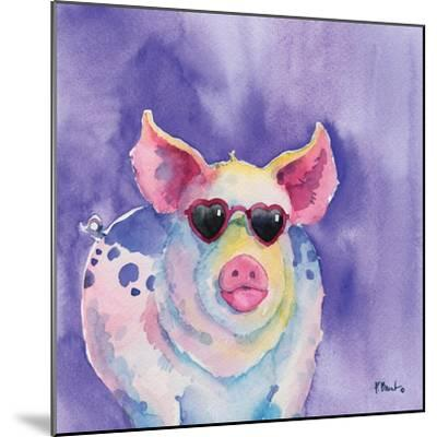 Sunny Farm III-Paul Brent-Mounted Art Print