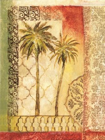 Khaki Palms I-Gregory Gorham-Framed Art Print