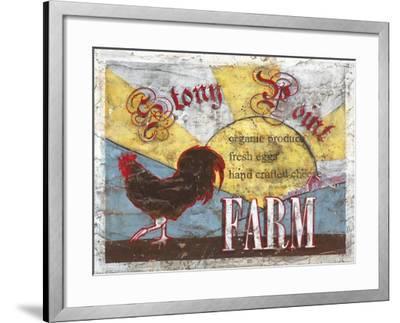 Stony Point Farm-Catherine Jones-Framed Art Print