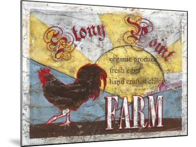 Stony Point Farm-Catherine Jones-Mounted Art Print