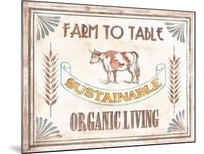Organic Living-Catherine Jones-Mounted Art Print