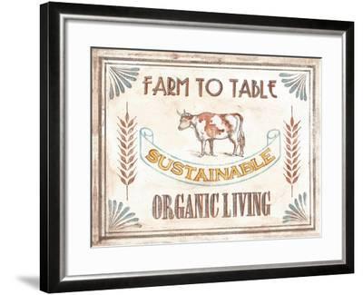 Organic Living-Catherine Jones-Framed Art Print