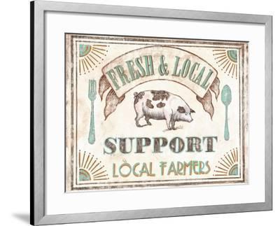 Fresh & Local-Catherine Jones-Framed Art Print