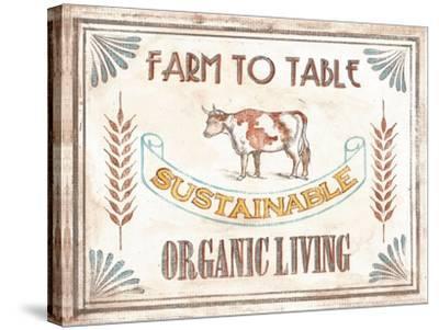 Organic Living-Catherine Jones-Stretched Canvas Print