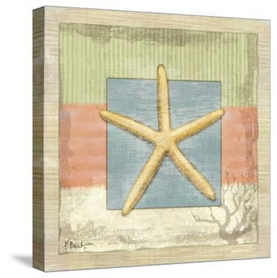 Montego Starfish-Paul Brent-Stretched Canvas Print