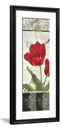 Etude en Rouge Panel II-Pamela Gladding-Framed Art Print