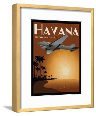 Havana-Jason Giacopelli-Framed Art Print