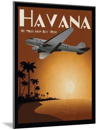 Havana-Jason Giacopelli-Mounted Art Print