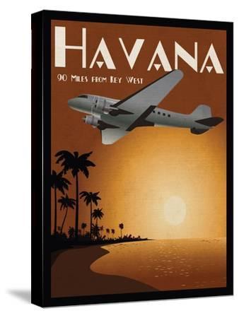 Havana-Jason Giacopelli-Stretched Canvas Print