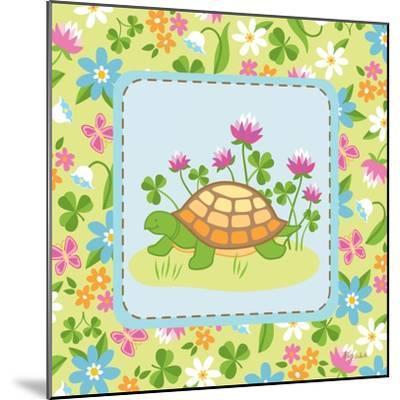 Meadow Turtle II-Betz White-Mounted Art Print