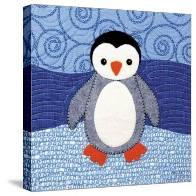 Penguin-Betz White-Stretched Canvas Print