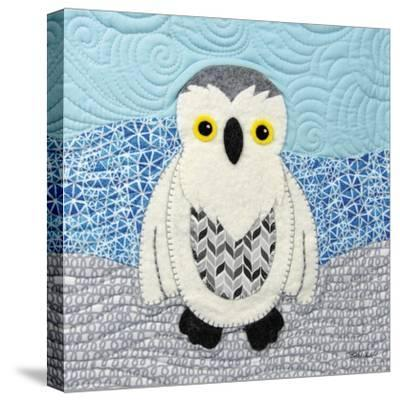 Snowy Owl-Betz White-Stretched Canvas Print