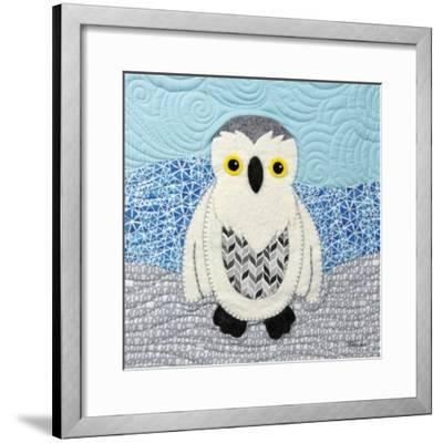 Snowy Owl-Betz White-Framed Art Print