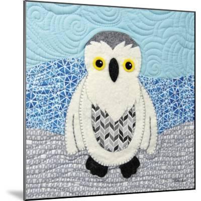 Snowy Owl-Betz White-Mounted Art Print