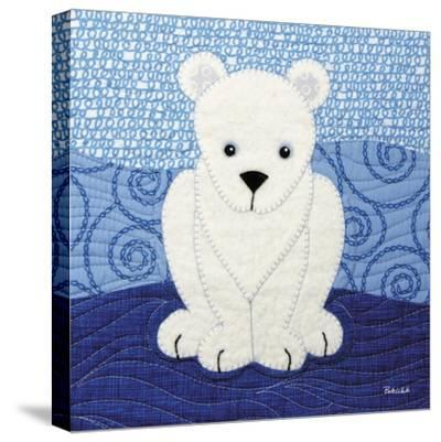 Polar Bear-Betz White-Stretched Canvas Print